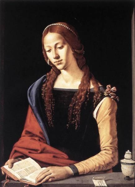 Piero di Cosimo St Mary Magdalene 1490s